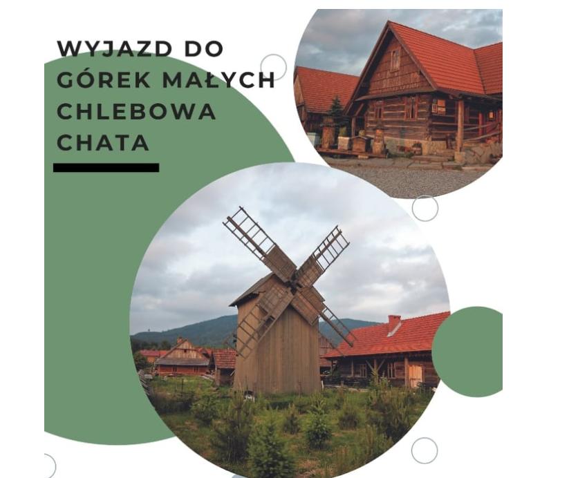 plakat wydarzenia wyjazd do chlebowej chaty